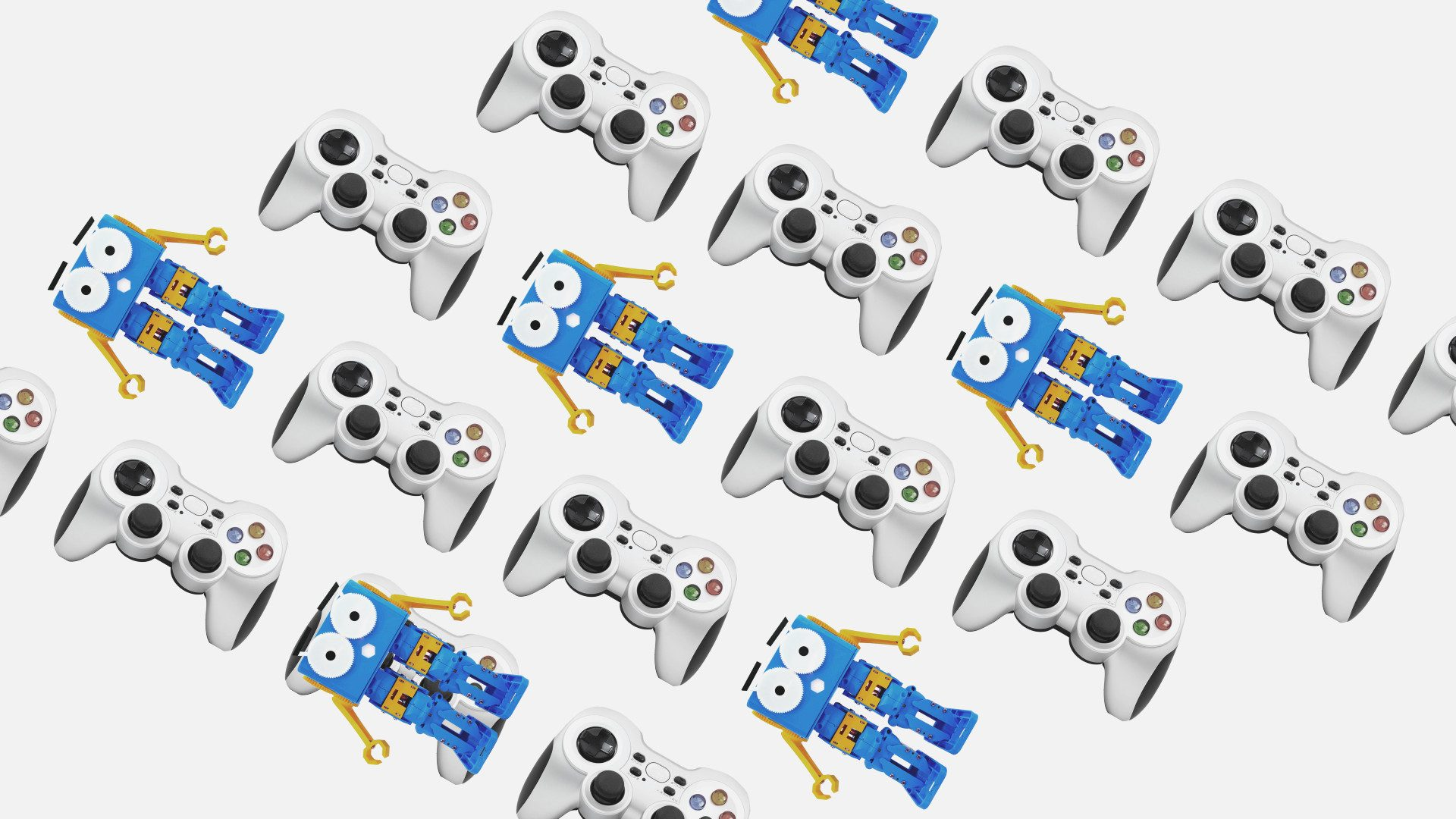 Control your Marty with a GamePad using Python